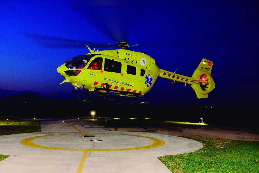 mini 3b8e9d7e 2a49 45f4 8901 585f88cc0e45 - El SEM posa en marxa el vol nocturn de l'helicòpter medicalitzat