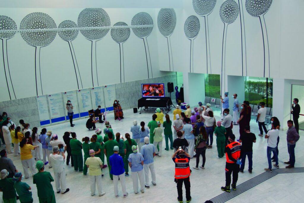 mini 202012241930046428 1024x683 - L'Hospital Universitari Arnau de Vilanova estrena la planta sisena sud renovada